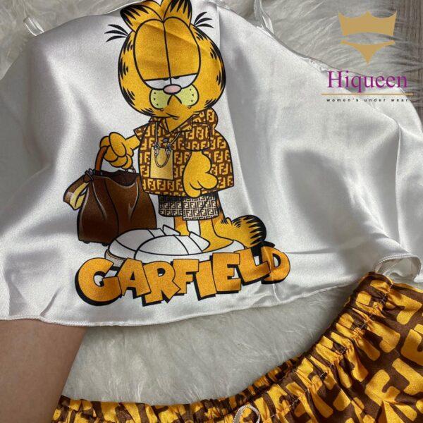 ست نیمتنه شورتک Garfield